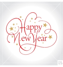 happy-new-year-hand-lettering-vector-673574